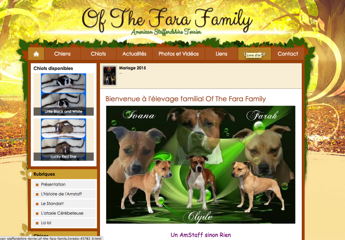 Elevage of the fara family